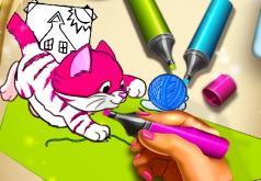 Игра Раскраски с Домашними Любимцами