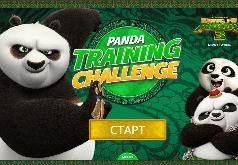 Игра Панда Кунг Фу Разбудите медведя 3