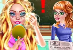 Игры незаметный макияж на работе