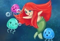 Игра Ариель : Спасение Медуз