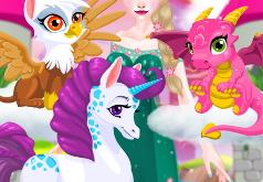 Игра Волшебный Зоопарк Эльзы
