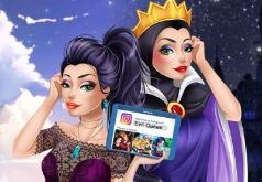 Игра Современный Макияж Злой Королевы