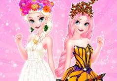 Игра Снежная Королева Бабочек Дива