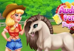 Игра Аудрей: Забота о Пони
