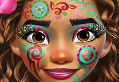 Игра Экзотические Принцессы: Макияж