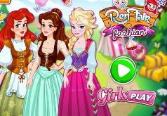 Игры Наряжаем принцессу средневековья