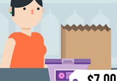 игры для девочек продавец в магазине продуктов