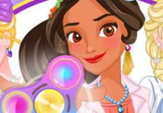 Игра Принцессы и Спиннер: Одевалка