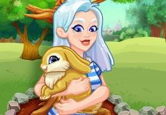 Игра Кристал Ухаживает За Кроликом