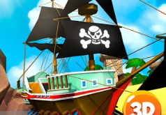Игра Перестрелка на Пиратском Корабле
