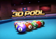 Игра Веселый 3Д Бильярд