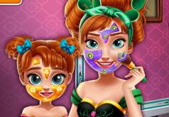 игры для девочек макияж анны