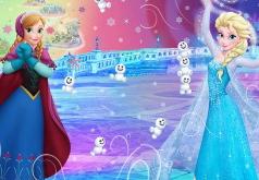 Игра Тест Снеговик: Ты Анна или Эльза?