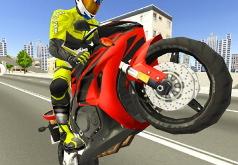 Игра Мотоцикл На Шоссе