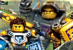 Игра Лего Нексо Найтс: Супер Мега Паника