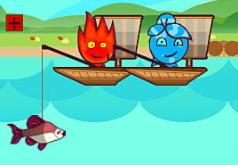 Игра Огонь и Вода: Рыбалка