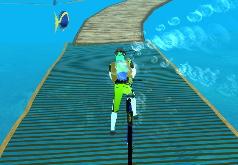 игры подводный велосипед