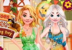 Игра Принцессы Диснея: День Благодарения