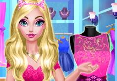 Игра Розовые Платья для Эльзы