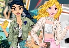 Игра Современные Одевалки Принцесс Диснея