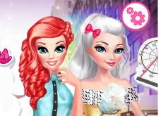 Игра Принцессы с Подругами В Нью-Йорке