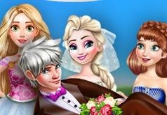Игра Холодное Сердце: Свадебные Фото