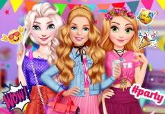Игры модная пижамная девушка