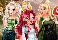 Игра Принцессы Диснея: Волшебные Эльфы