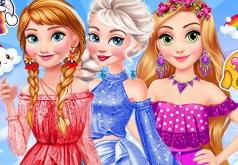 Принцессы Диснея: Радужная Одевалка