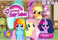Игра Пони: Парикмахерская