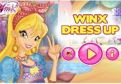 Игра Винкс Клуб: Одевалка