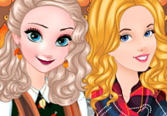 Игра Модная девушка осенью