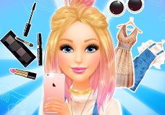 Игра Барби: Готовься Со Мной