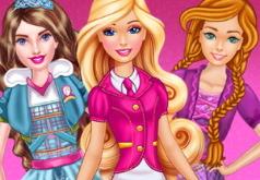 Игры одевалки в школу подруги