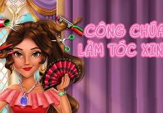 Игра Латина Принцесса: Настоящие Прически
