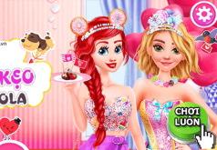 Игра Принцессы Диснея: Готовят Шоколадный Подарок