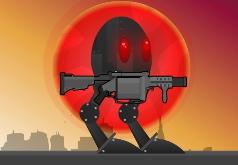 Игры на двоих роботы против зомби