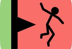 Игра Стикмен: Помоги Ему Упасть