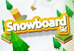 игры спуск по снежным горам
