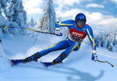 Игра Горные Лыжи: Пик Неба