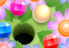 Игра Мини Гольф в Саду Драгоценных Камней