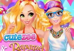 Игра Модный Вызов для Рапунцель