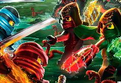 Игра Лего Ниндзяго: Битва