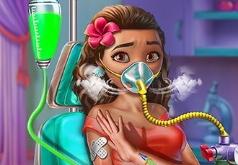 Игра Моана в Больнице