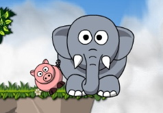Игры на двоих слоны
