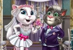 Игра Том и Анджела: Свадьба