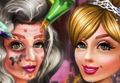 Игра Превращение Ведьмы в Принцессу