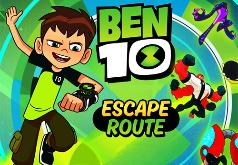Игра Бен 10: Рисуй и Беги