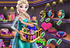 Игра Эльза: Покупает Подарки