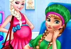 Игра Принцессы: Беременная Сестра